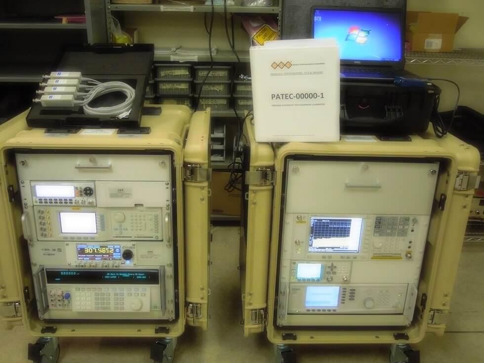 Portable Automatic Test Equipment Calibrator