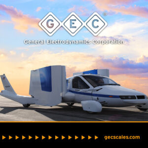 TERRAFUGIA CHOOSES GEC's ULP410 LITE WIRELESS AIRCRAFT SCALE SYSTEM FOR FLIGHT TEST PROGRAM